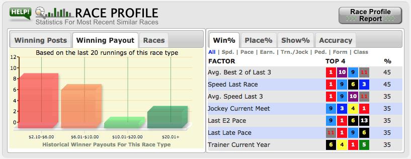 BETMIX_Race Profile