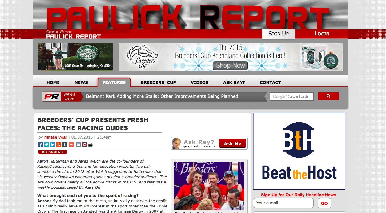 Paulick Report