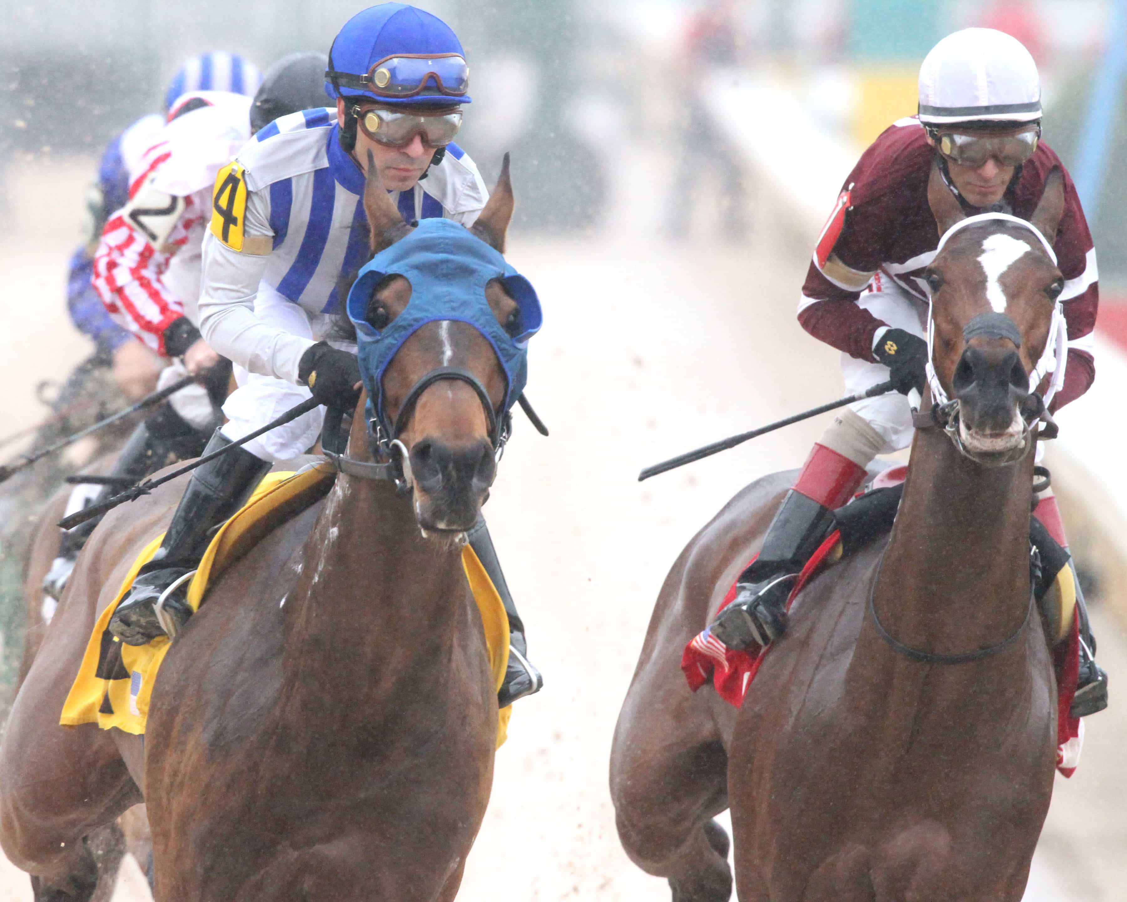 Gold Medal Dancer - The Azeri - Gr II - The 29th Running - 03-14-15 - R07 - OP - First Turn - Photo credit: Oaklawn/Coady Photography