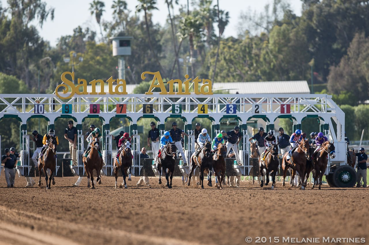 And their off in the G2 San Felipe S.