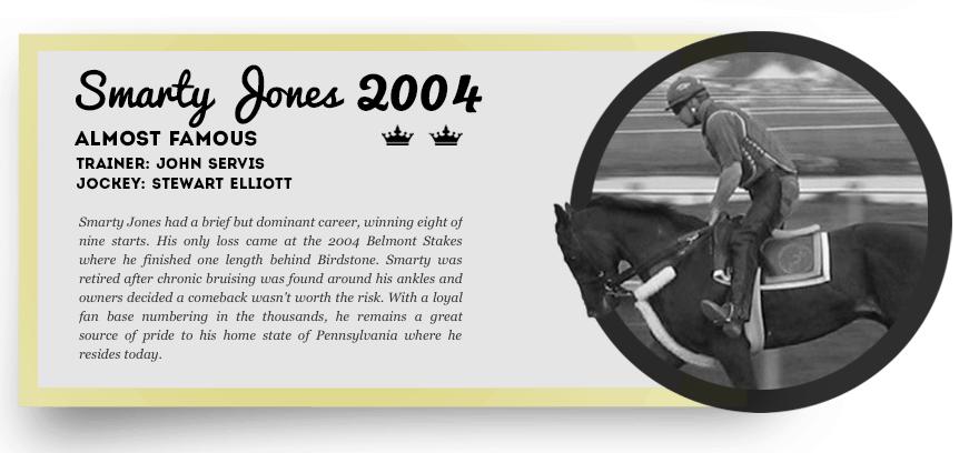 Smarty Jones Triple Crown Infographic