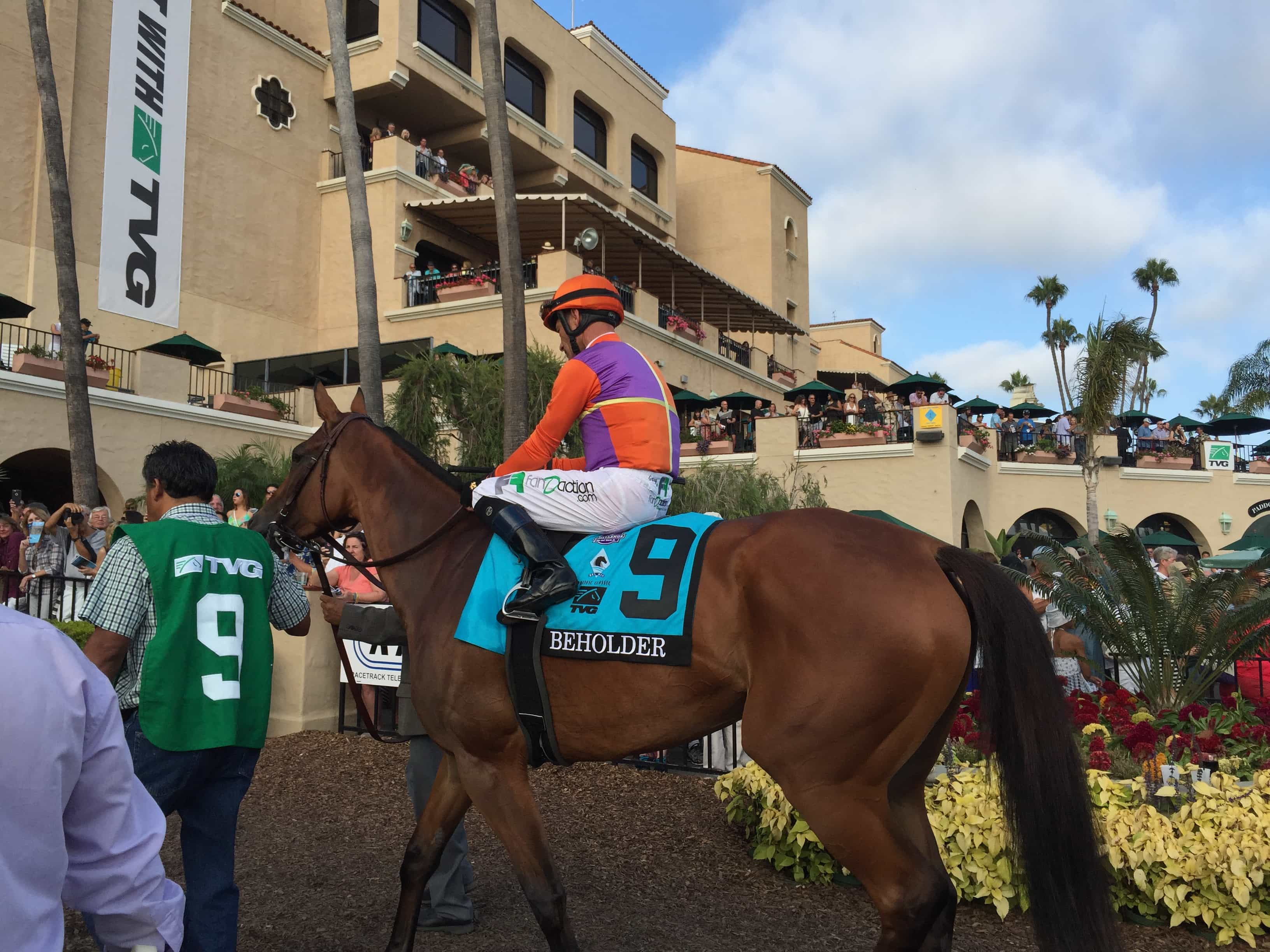 Beholder - PACIFIC CLASSIC (Grade I) - 08-22-15 - R9 - DMR - Photo credit: Melanie Martines