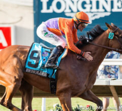 Del Mar Barn Notes: Beholder Probable for Pacific Classic