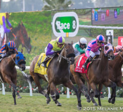 Obviously, Chiropractor, Bal a Bali and Big John B Head Wide-Open G2 San Gabriel Stakes