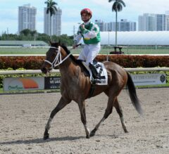 Awesome Banner Next Race Undecided; Cathryn Sophia Exits Forward Gal in Good Order