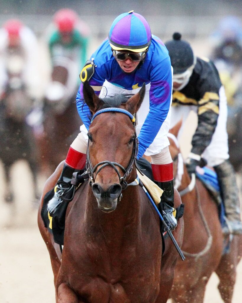 Discreetness Wins Monday's $150,000 Smarty Jones Stakes - Photo Credit: Coady Photography