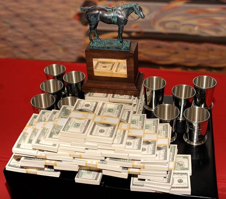 17th DRF/NTRA National Handicapping Championship Eclipse Award, Cash and Silver Julep Cups - Photo Credit: HorsePhotos.com