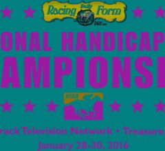 Record $2.75 Million Estimated Purse On Line at 17th DRF/NTRA National Handicapping Championship