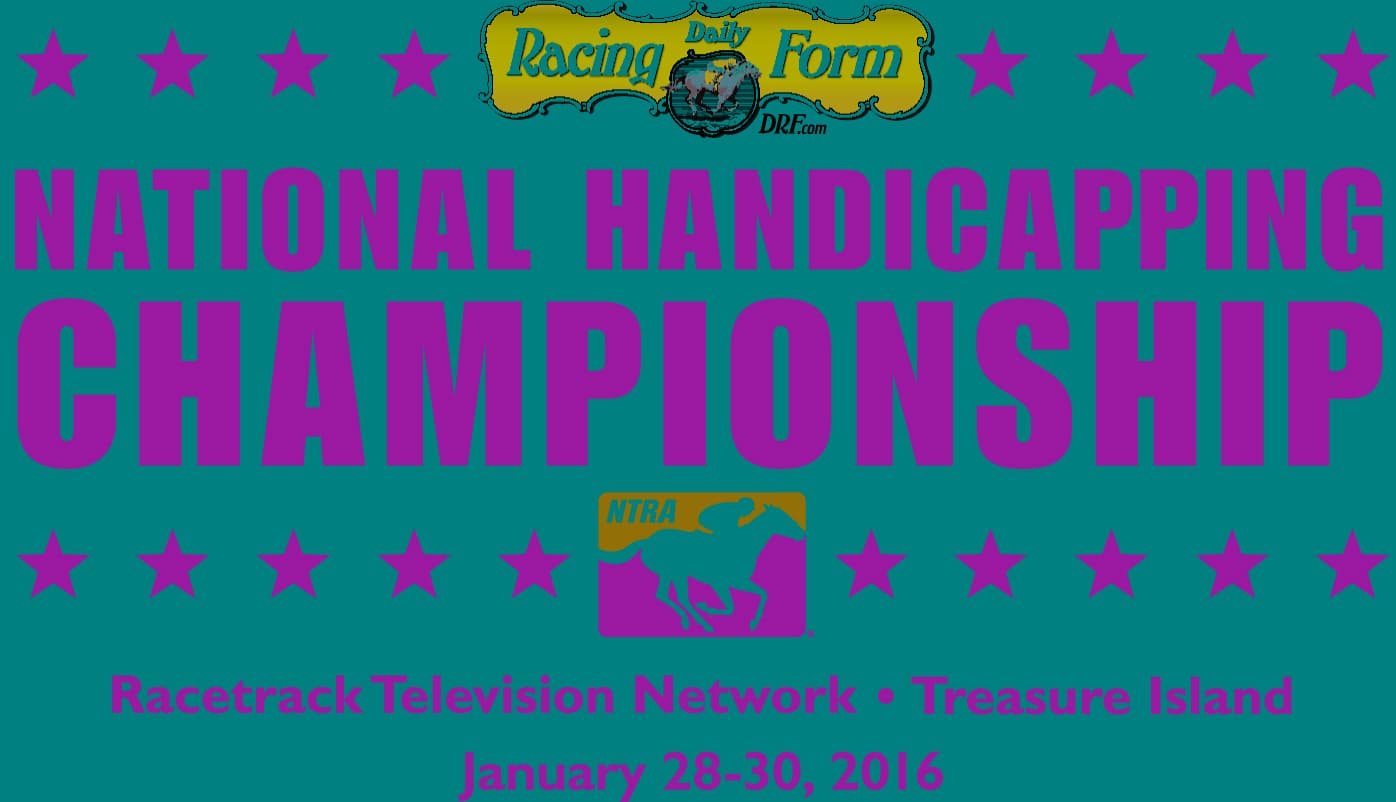 17th DRF/NTRA National Handicapping Championship Logo