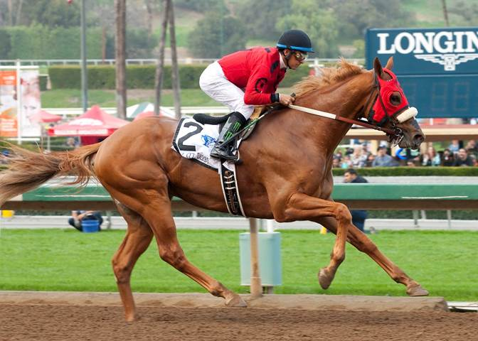 Smokey Image wins California Cup Derby - ©Benoit Photo