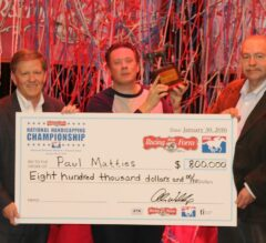 Paul Matties Wins 17th DRF/NTRA National Handicapping Championship, Bernier Takes NHC Charity Challenge