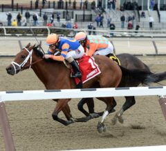 Repole Stables' Homebred Clipthecouponannie Holds Off Frosty Margarita in Franklin Square