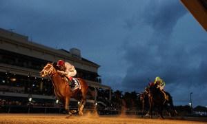 Mshawish wins the Donn - Photo Credit: Adam Coglianese
