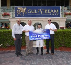 Twelve-Time Gulfstream Park Training Champion Pletcher Earns 4,000th Win