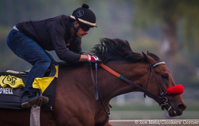 Nyquist-work-march-18-Donworth - Photo Credit: ©Zoe Metz/Clockers' Corner