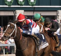 Brooklynsway Upsets 1-2 Favorite I'm a Chatterbox to Win Hilliard Lyons Doubledogdare