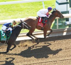 Lightstream Remains Unbeaten With Adena Springs Beaumont Victory