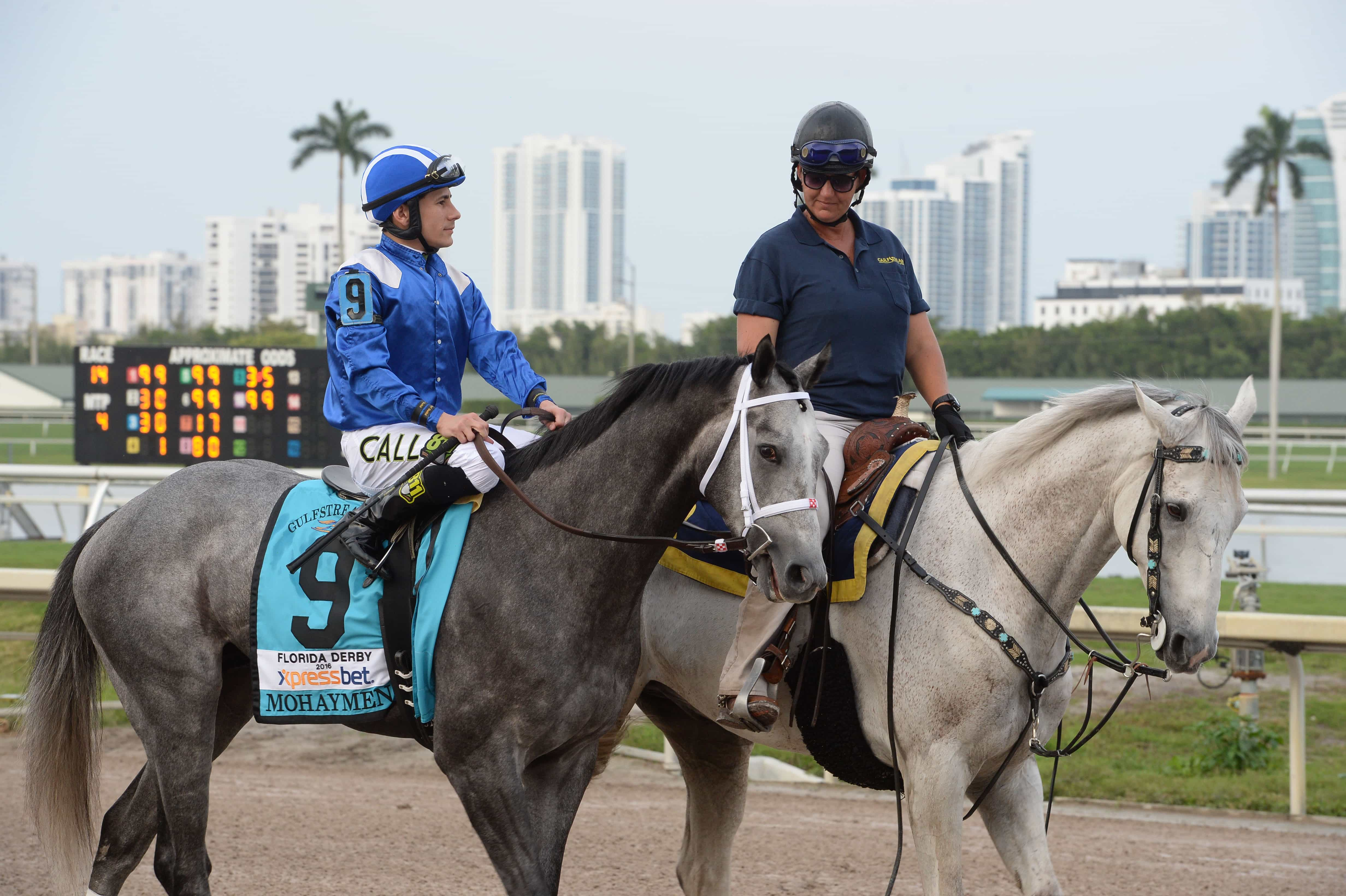 Mohaymen in Florida Derby - Photo Credit: Coglianese Photos/Gulfstream Park