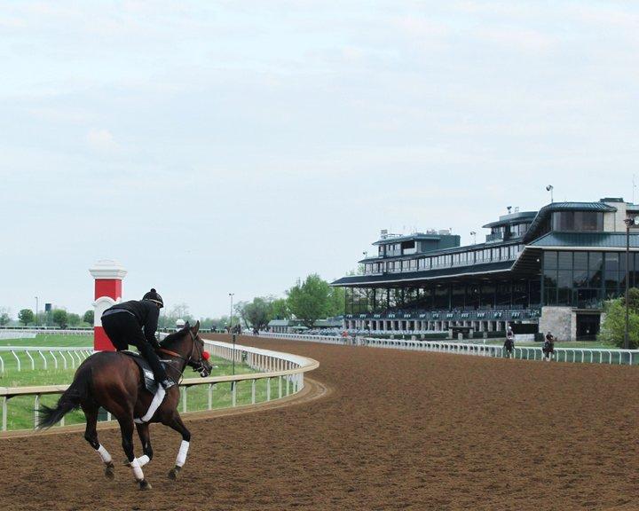 Nyquist - Morning Training - KEE - 042616Trainer: Doug F. O'NeillOwner: Reddam Racing LLCBreeder: Summerhill Farm