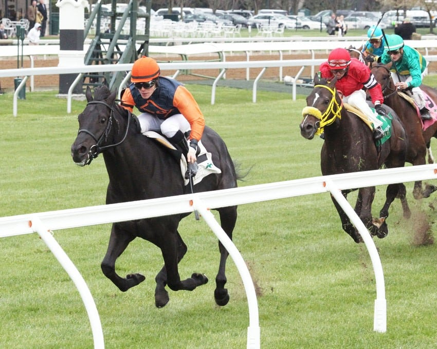 Shakhimat Leads All the Way to Win Opening-Day Transylvania - Credit: Keeneland