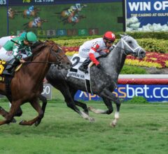 Smokem Kitten Shows the Way in G3 Miami Mile; Cali Thirty Seven Romps in $100,000 Powder Break