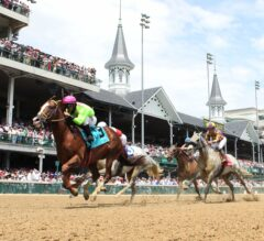 Catalina Red Scores 14-1 Upset in G2 Churchill Downs