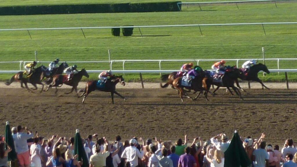 California Chrome loses the 2014 Belmont Stakes to Tonalist