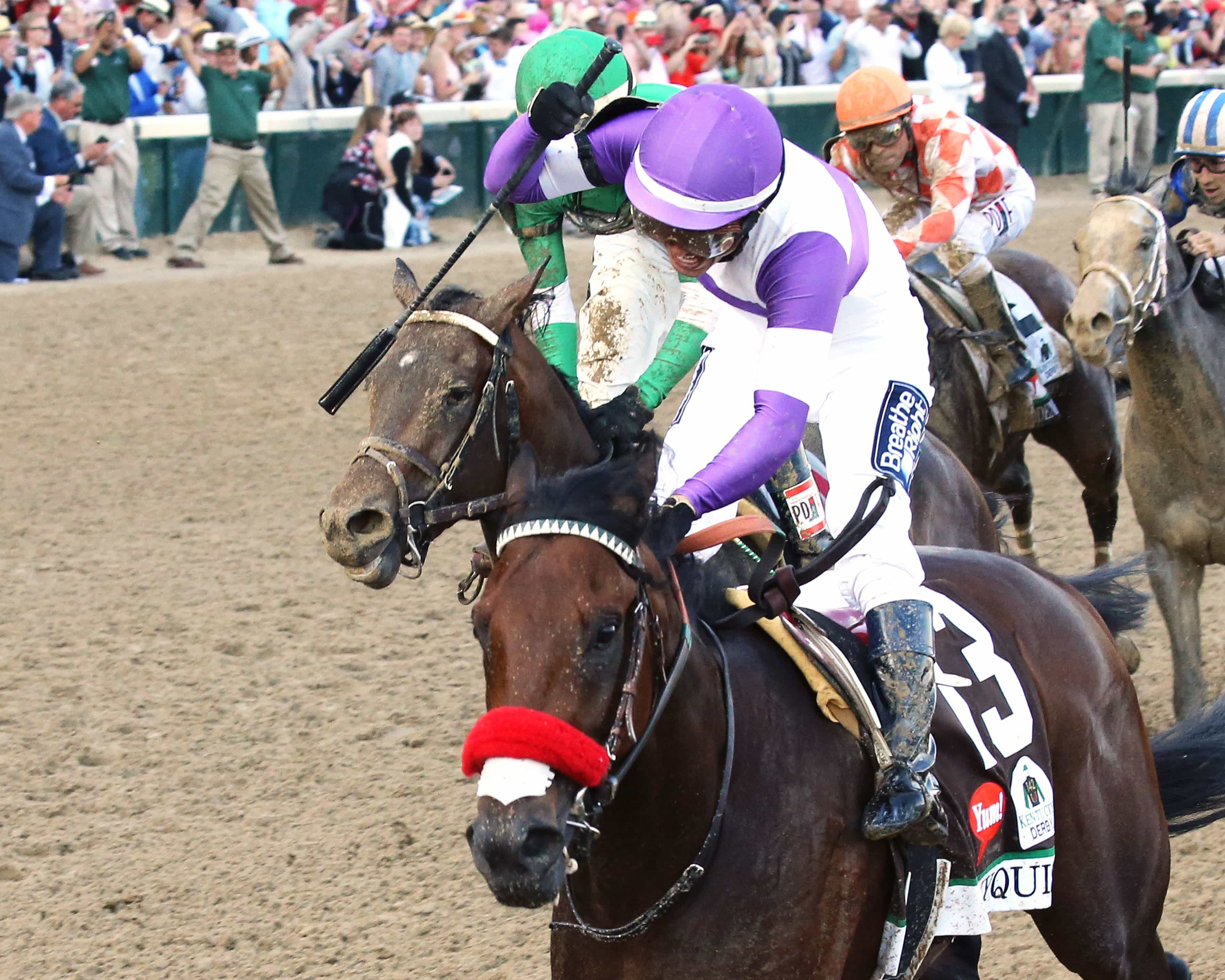 NYQUIST - The Kentucky Derby Gr I - 142nd Running - 05-07-16 - R12 - CD - Celebration - Coady Photography