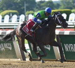 By the Moon Upsets Wavell Avenue in G3 Bed o' Roses at Belmont Park