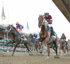 Churchill Downs Barn Notes: Gun Runner, Untapable Final Works for Saturday Night Stakes