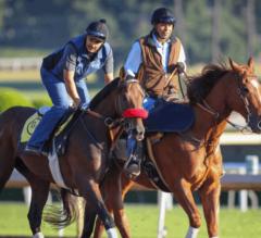 Santa Anita Stable Notes: Champion Nyquist 'Breezes' Four Furlongs