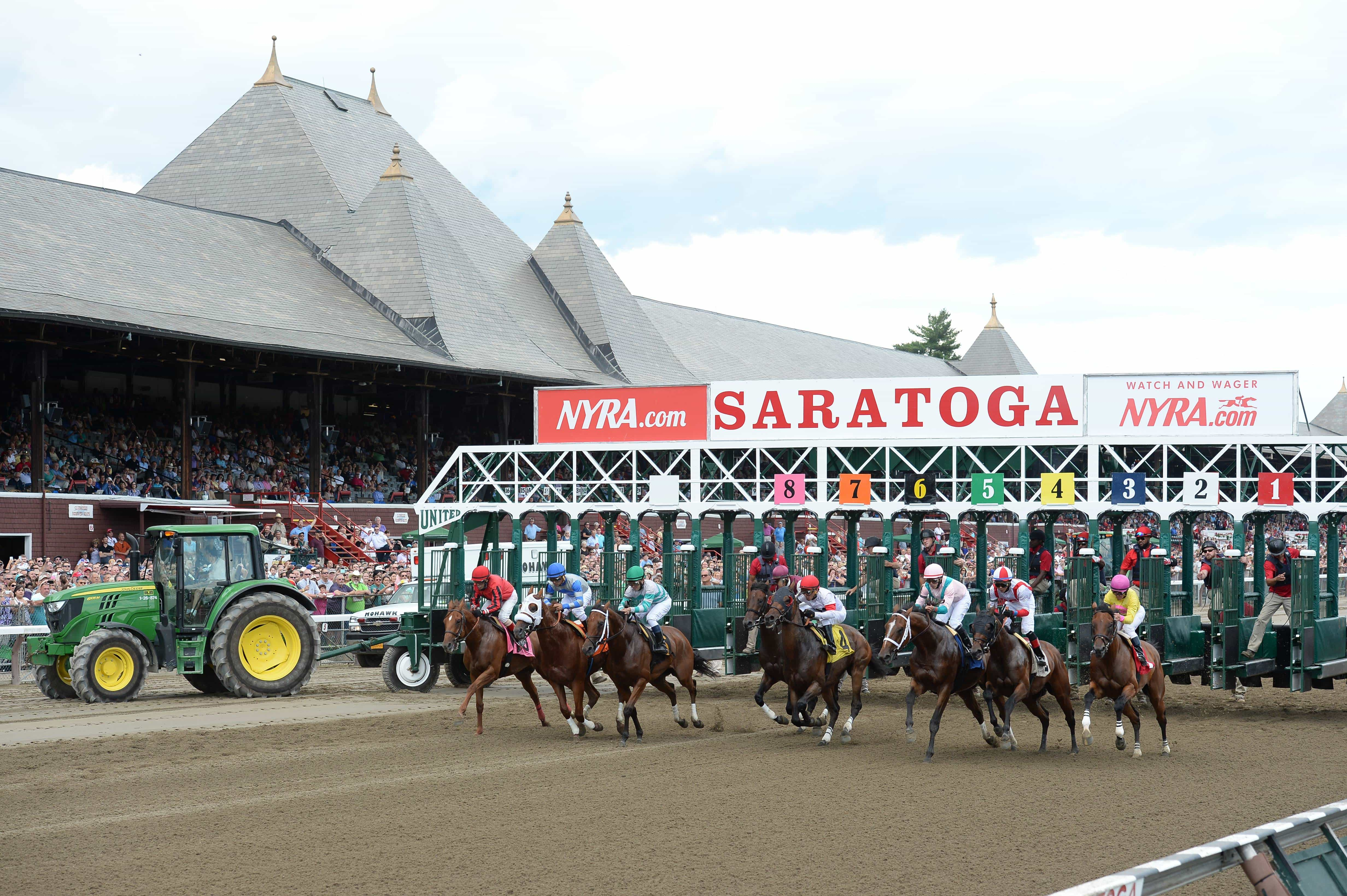 1st race saratoga credit Chelsea Durand/NYRA