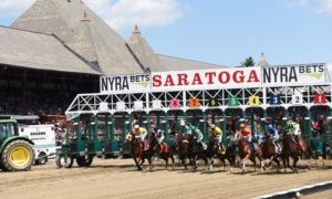 1st race at Saratoga 2016 - NYRA