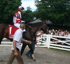 Saratoga Report #1: Songbird Sizzles at the Spa