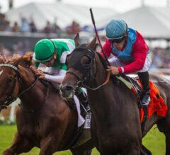 Eastern Invader Harmonize Surges Late to Win G1 Del Mar Oaks