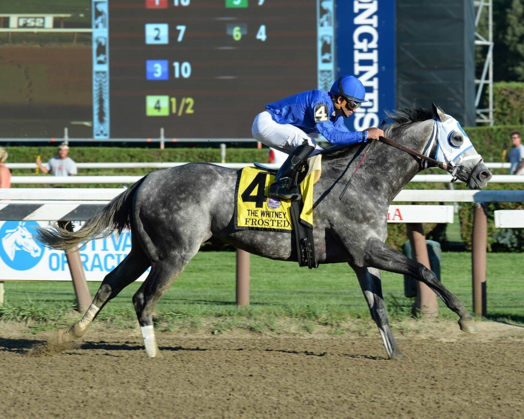 frosted credit Chris Rahayel/NYRA