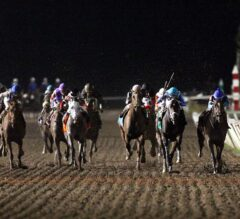 Texas Chrome Gritty in G3 Oklahoma Derby Victory