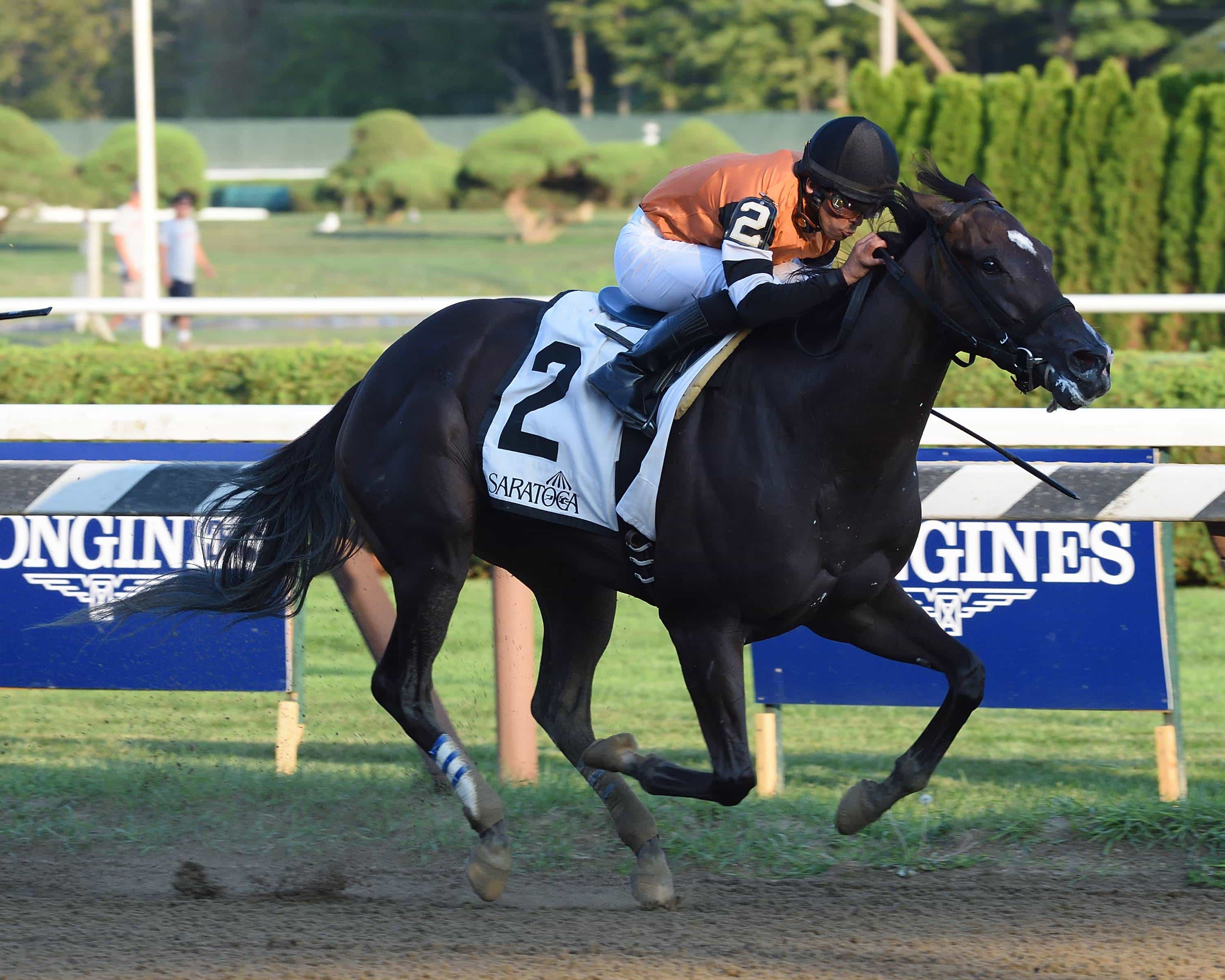 Lucy N Ethel wins G2 Prioress - NYRA