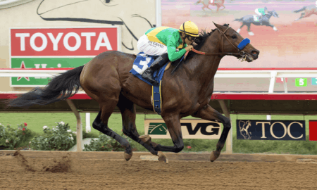 Mastery win G3 Bob Hope Stakes at Del Mar for Bob Baffert - ©Benoit Photo