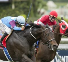 """""""Big Money Mike"""" Guides Bolo to Improbable Come From Behind Win in G2 Arcadia Stakes"""