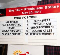 Always Dreaming Draws Post 4, Installed 4-5 Favorite in Preakness Stakes