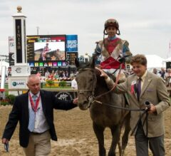 No Mo Dough Erupts to Win $100,000 LARC Sir Barton