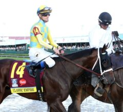 Belmont Park Notes: Classic Empire Works for G1 Belmont Stakes