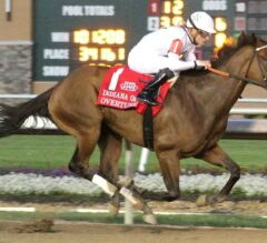 Overture Sings in G3 Indiana Oaks