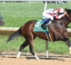 Songbird Gives Porter Home State Win in G1 Delaware Handicap