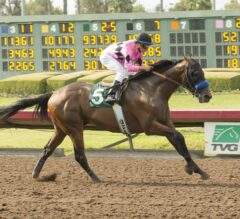 West Coast Rallies Late in G3 Los Alamitos Derby