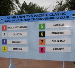 Arrogate: On the Outside, Looking Forward in G1 Pacific Classic
