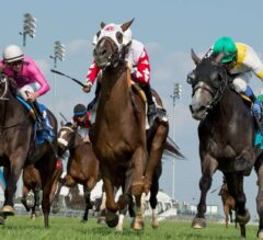 Channel Maker Noses Final Copy in $400,000 Breeders' Stakes