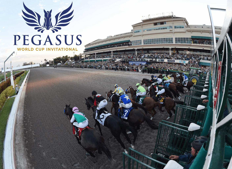 Doce caballos van por la gloria en la Pegasus World Cup