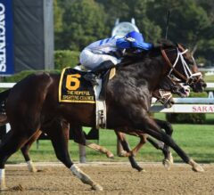 Sporting Chance Bolts Home First in G1 Hopeful